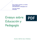 Ensayo pedagogía- educación.doc