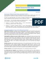 Global Immunization Data