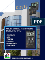 Analisis Matricial de Estructuras HP50g