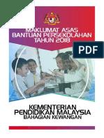 2018 - Booklet Bantuan Persekolahan Kpm Latest