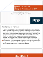 Anti Trafficking in Persons