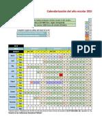 Calendarización Del Año Escolar 2018 I.E.nº