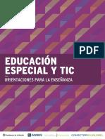 Conectarigualdad Educacion Especial Tic