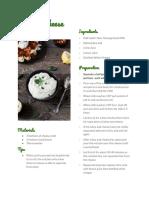 ceciliac recipe card