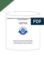 Bcsccs 505 r01 Dbms-lab Manual-2010