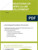 Foundations of Curriculum Development PART 2