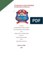 INSTITUTO DE EDUCACION SUPERIOR TECNOLOGICO PÚBLIC1 ORTOGRAFIA.docx