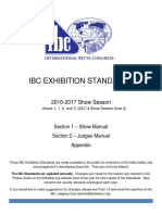 IBC Exhibition Standards 2017