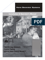 100 200A ATS Manual