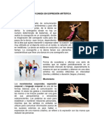 Texto Paralelo en Danza y Expresión