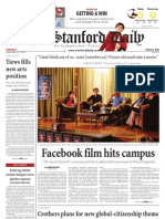 The Stanford Daily, Sept. 21, 2010