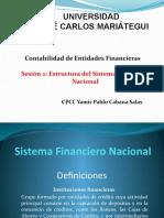 Sesión 2 Estructura Del Sistema Financiero Nacional Peruano