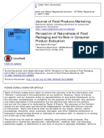 Journal of Food Products Marketing Volume issue 2015 [doi 10.1080%2F10454446.2014.885868] Binninger, Anne-Sophie -- Perception of Naturalness of Food Packaging and Its Role in Consumer Product .pdf