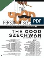 The Good Person of Szechwan Production Program