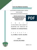 Tesis Estudio Ab-Initio de Las Propiedades Electronicas de Nanoestructuras de Sic