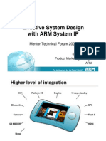 ARM System Technology Mentor Tech Forum v6