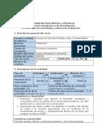 Guía de Actividades y Rúbrica de Evaluación- Paso 3 -Diseñar Una Propuesta de Acción Psicosocial