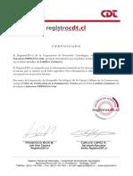 Certificado Ladrillo Titan