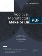 Additive Manufacturing - Make or Buy