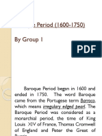 Baroque Period (4th Grading Lesson 1 in Music)