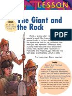 The Giant and the Rock