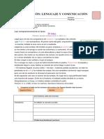 Evaluación Lengua y Literatura 7 Undad 1