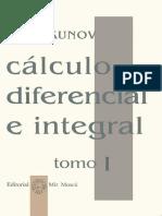 Cálculo Diferencial e Integral - Tomo I - Piskunov