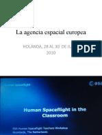 La Agencia Espacial Europea