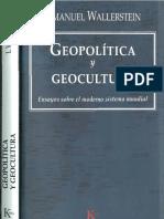 Wallerstein Inmanuel. Geopolitica y Geocultura..pdf