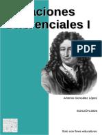 Ecuaciones Diferenciales I - Artemio González