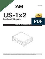 Manual Tascam US-1x2 RM VA