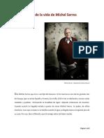 Relato Breve de La Vida de Michel Serres - Frank David Bedoya Muñoz - 2018