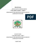Proposal TPQ 2010