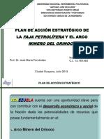 Exposición  Minero y Faja Petrolífera