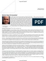 Appenzeller Daily Bell_Markets Reject EU Austerity
