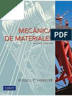 Mecánica de Materiales - Hibbeler (8a Edición)