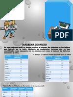 Diapositivas de Diagrma de Pareto y Diagrama de Arbol