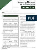 Aulão-Ao Vivo_Química - Prof. Antonino