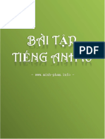 Bai Tap Tieng Anh 10