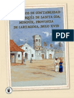 Los Libros de Contabilidad Del Marqus de Santa Coa Mompox Provincia de Cartagena Siglo XVIII