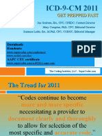 ICD 9 2011 Fast Prepration
