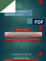 Síndrome Urémico Hemolítico SHU