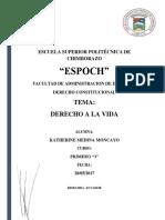 ENSAYO DERECHO A LA VIDA.docx