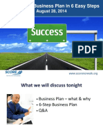 Developing a Business Plan 6 Easy Steps