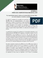 Competitividad Regional Apurímac