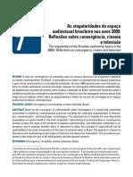 Cesário, Lia B - Reflexões Sobre Convergência, Cinema e Televisão
