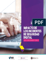 Impacto de Los Incidentes de Seguridad Digital