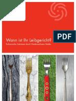 Wann ist Ihr Leibgericht? Kulinarische Städtereisen und Zeitreisen in Niedersachsen.