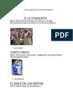 Bailes de Centroamerica