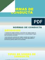 diapositivas normas de conducta